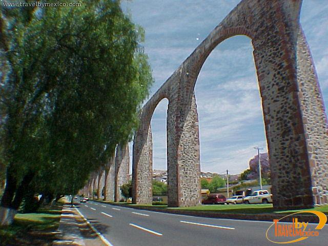 El famoso Acueducto de Querétaro