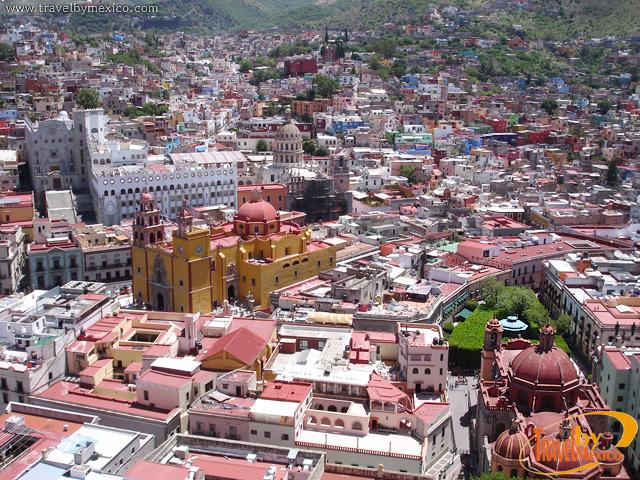 Jardín de la Unión en Guanajuato