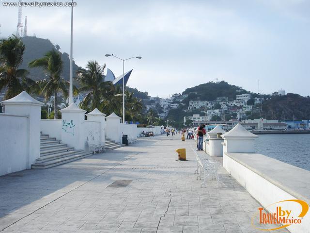 Malecón Espíritu Santo en Manzanillo