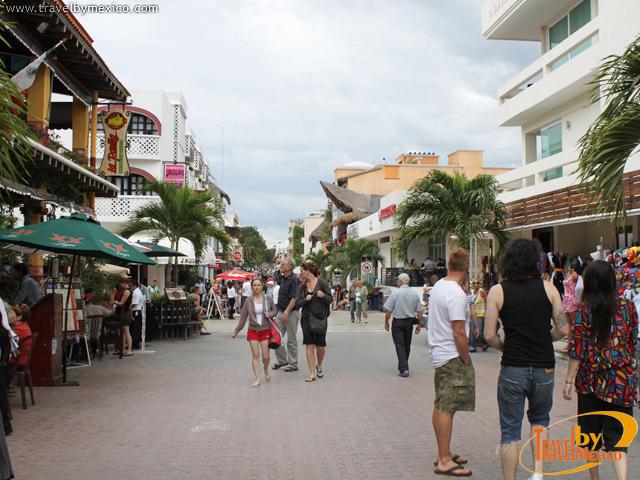 La 5ta. Avenida de Playa del Carmen