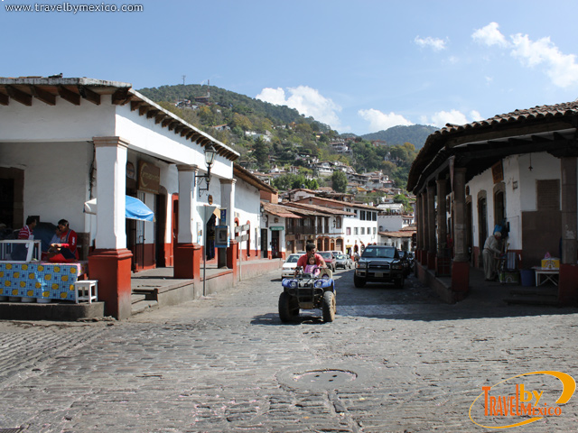 Calles de Valle de Bravo