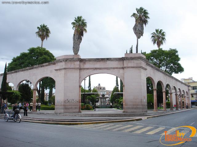 Jardín de Zaragoza