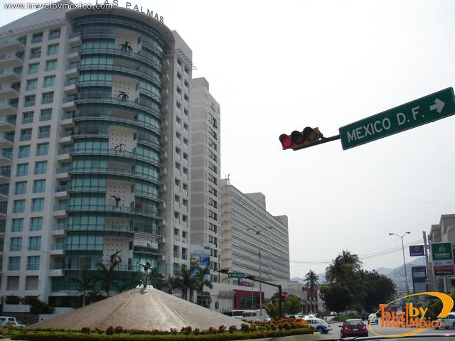 Fuente de La Diana en Acapulco
