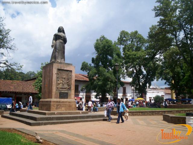 Plaza Gertrudis Bocanegra