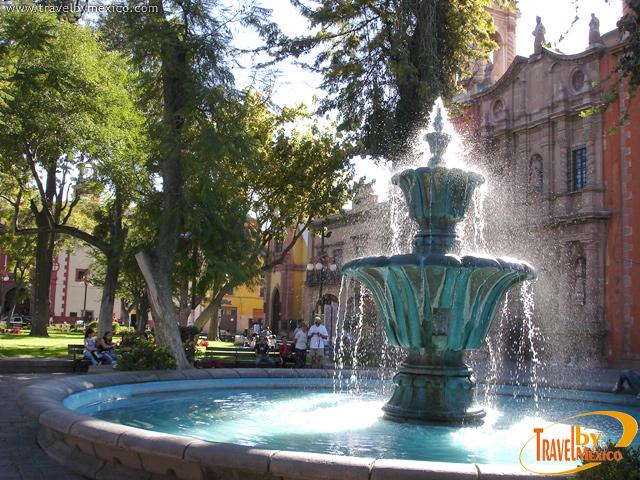 Fuente del Jardín de San Francisco