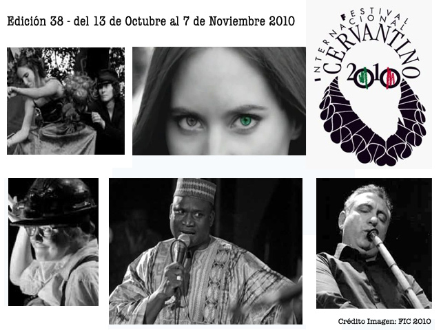 Programa del Festival Cervantino 2010