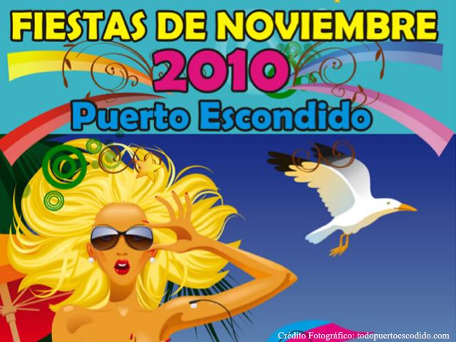 Fiestas de Noviembre en Puerto Escondido