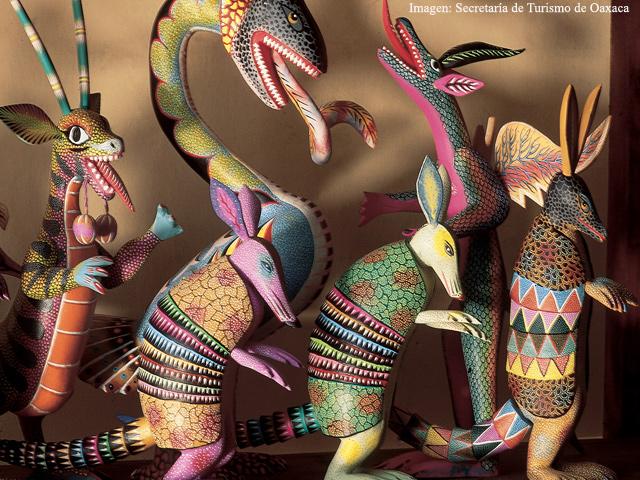 Alebrijes, artesanías nacidas de un sueño...