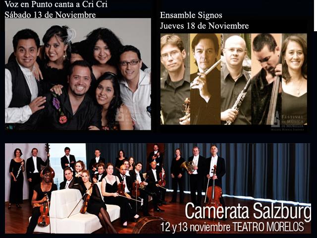 Programa 2010 Festival de Música de Morelia