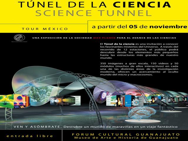 Exposición El Túnel de la Ciencia, en León, Gto.