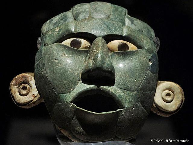 Máscaras Mayas y Ajuares Funerarios viajan a Francia