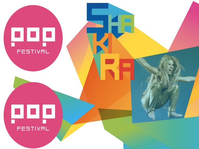 El Pop Festival 2011 y Shakira estarán en México