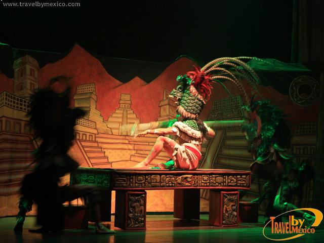 Palenque Rojo, obra teatral que te llevará al Mundo Maya
