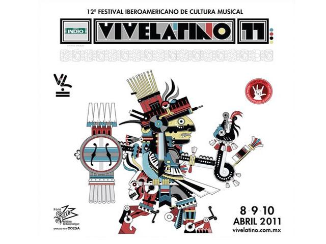 Vive Latino 2011, Festival Iberoamericano de Cultura Musical