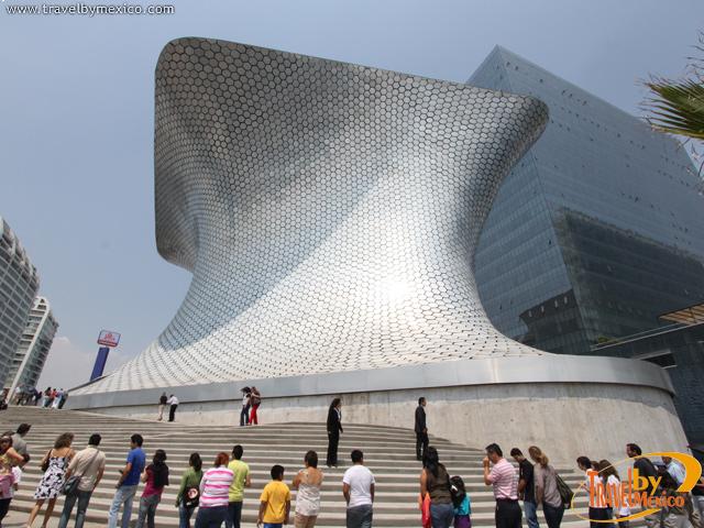 El nuevo Museo Soumaya abrió sus puertas en Plaza Carso