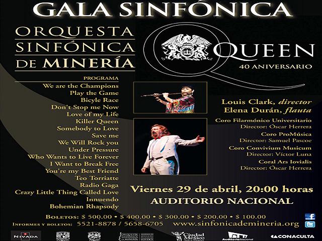 Queen Sinfónico en el Auditorio Nacional