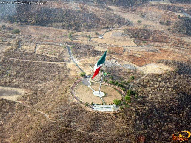 El Asta Bandera más grande del mundo está en México