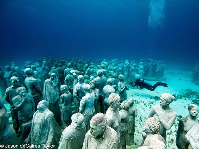 El primer Parque Escultórico Subacuático del Mundo está en Cancún