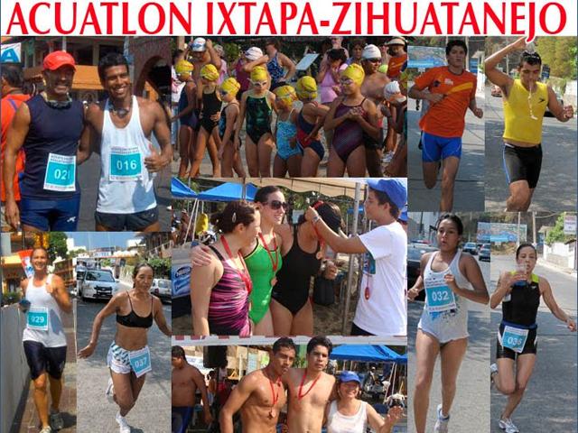 El Acuatlón de Ixtapa Zihuatanejo 2011 en Playa Linda