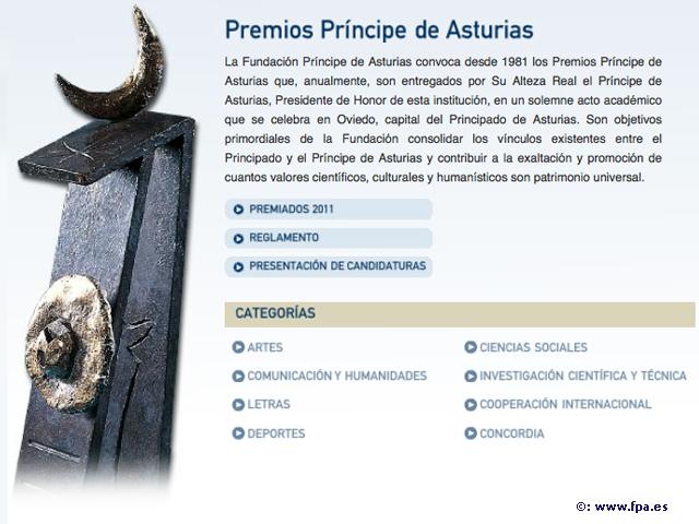 Neurólogo mexicano recibe el Premio Príncipe de Asturias 2011