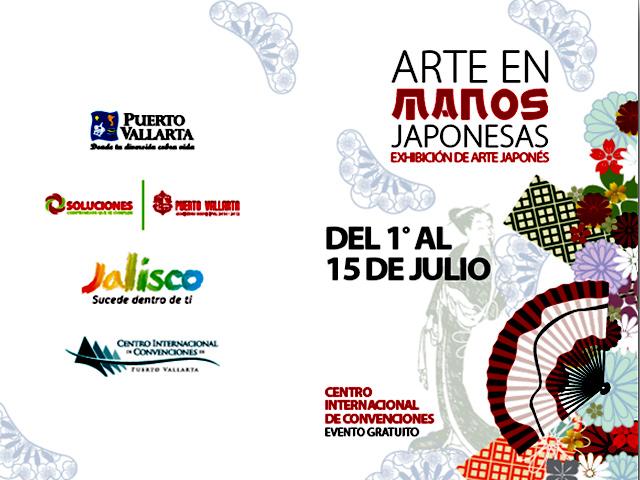 El Arte Japonés llega en Julio a Puerto Vallarta