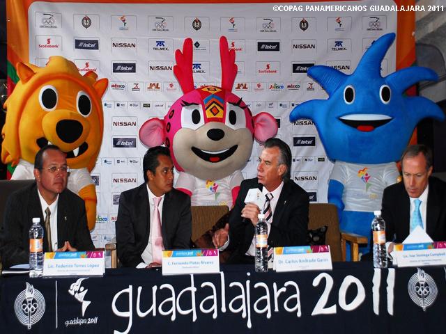 Belanova, Lorena Ochoa, Fernando Platas, Embajadores Panamericanos 2011