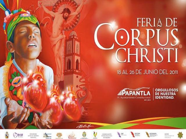 Fiesta de Corpus Christi 2011 en Papantla
