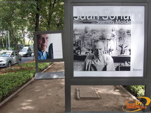 Sueños Moldeados de Juan Soriano en el Paseo Reforma