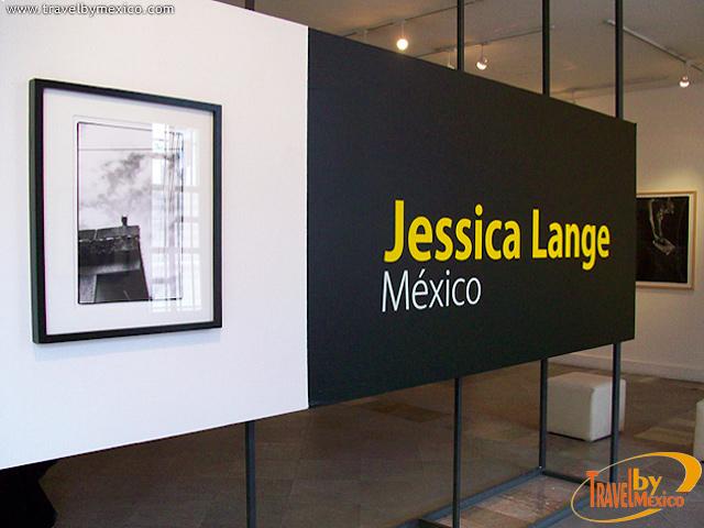 La actriz americana Jessica Lange expone sus fotos de México en la Casa de las Ajaracas