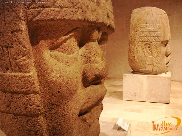 Obras Colosales del Mundo Olmeca exhibidas en la ciudad de México