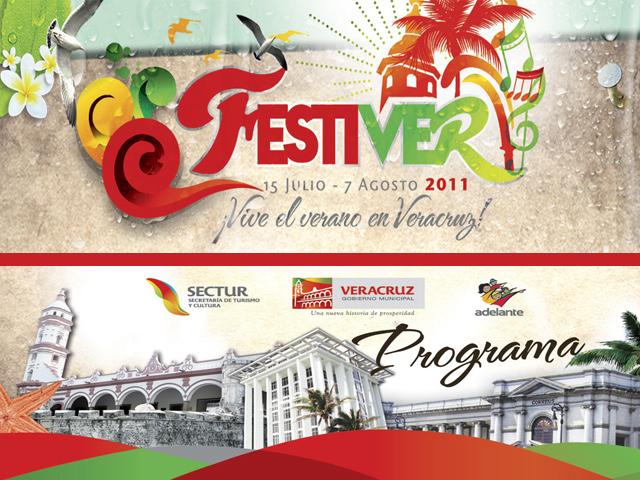 Programa del Festival de Verano en Veracruz, Festiver 2011