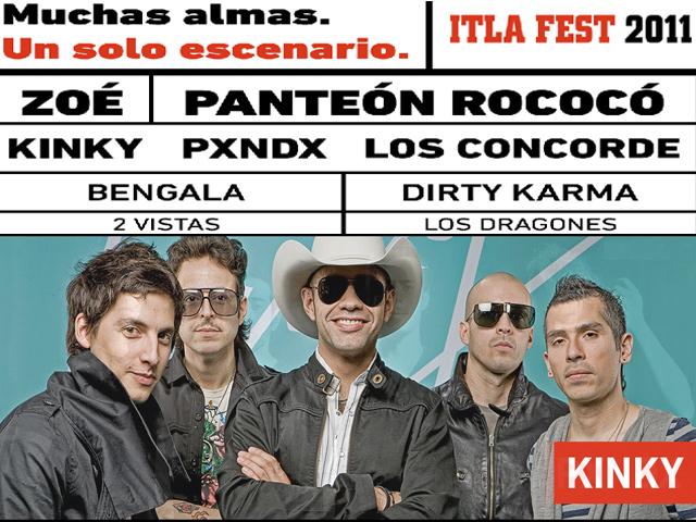 Itla Fest en Pachuca, lo mejor de la música alternativa en México