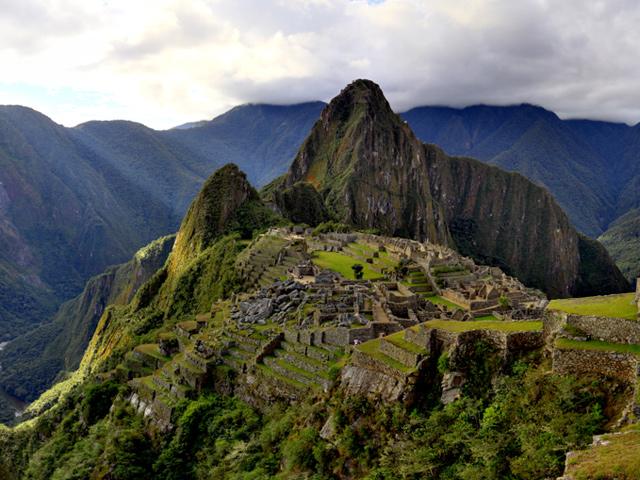 Exposición fotográfica del Machu Picchu en el Museo del Templo Mayor