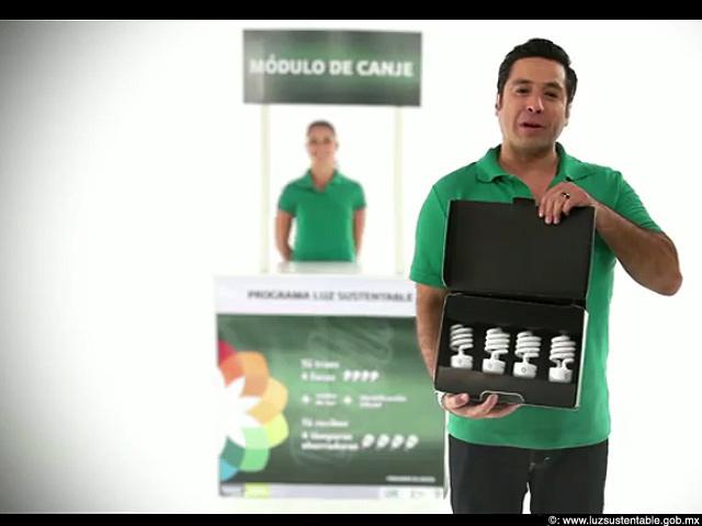 Gobierno Federal mexicano canjeará 48 millones de focos incandescentes por fluorescentes