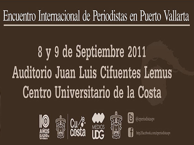 Primer Encuentro Internacional de Periodistas en Vallarta