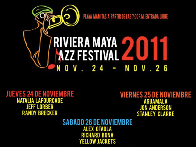 Riviera Maya Jazz Festival 2011 en Playa del Carmen