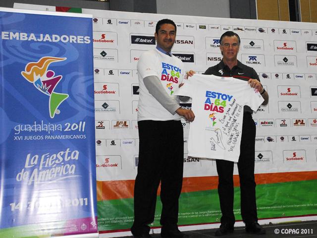 El taekwondoín Victor Estrada se suma a la lista de Embajadores de los Panamericanos 2011
