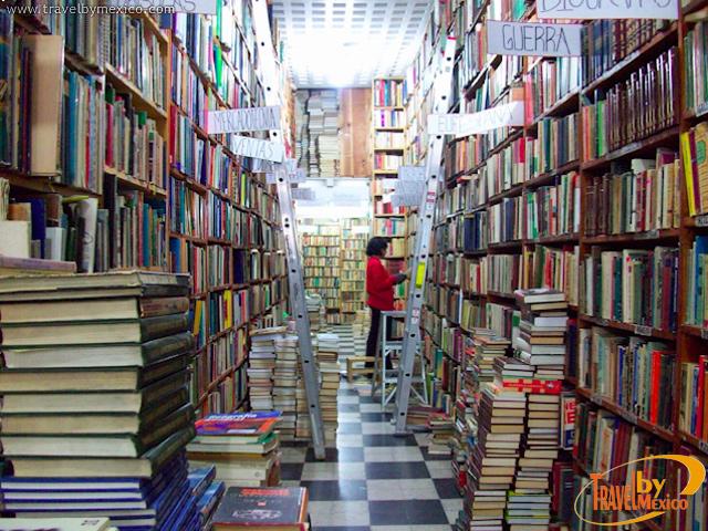 Curioseando en las librer as de viejo noticias y eventos travel by m xico - Almacen de libreria ...