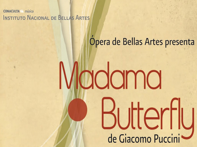Madama Butterfly en Bellas Artes