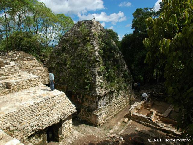 Descubren restos de Palacio Maya en Ocosingo
