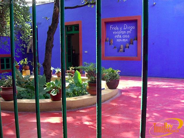 La Casa Azul, Museo Frida Kahlo en Coyoacán