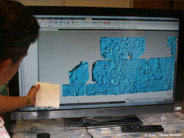 El Juego de Pelota de Chichén Itzá en 3D