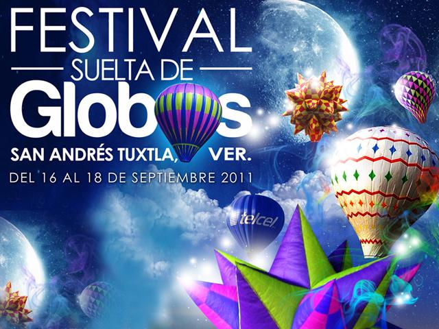 Festival Suelta de Globos 2011 en San Andrés Tuxtla, Veracruz