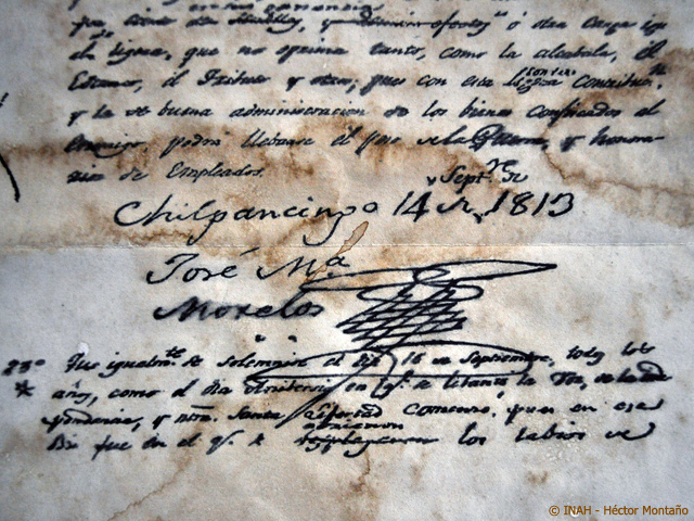 Documentos de la Independencia podrán ser adquiridos en el MNA