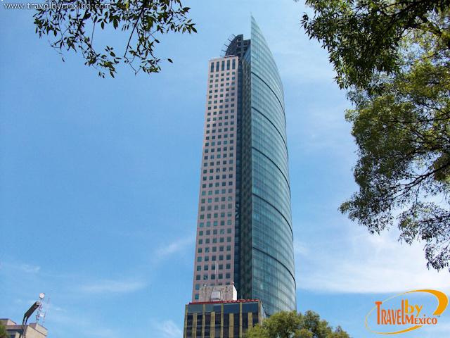 Torre Mayor, el edificio más alto de México