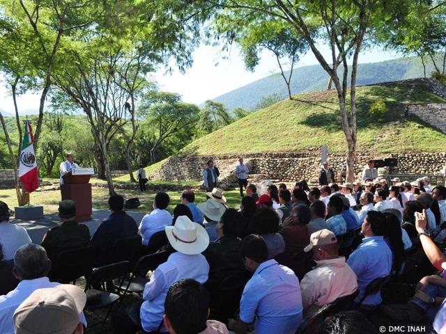 Felipe Calderón refrenda la apertura de zonas arqueológicas
