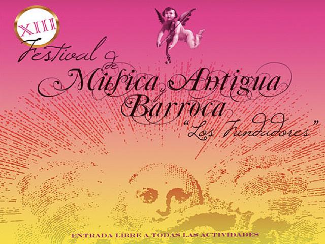 """XIV Festival de Música Antigua y Barroca """"Los Fundadores"""" 2011"""