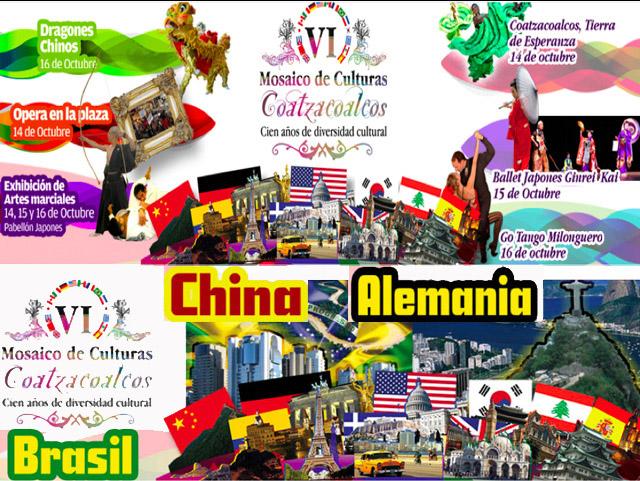 Festival Mosaico de Culturas en Coatzacoalcos