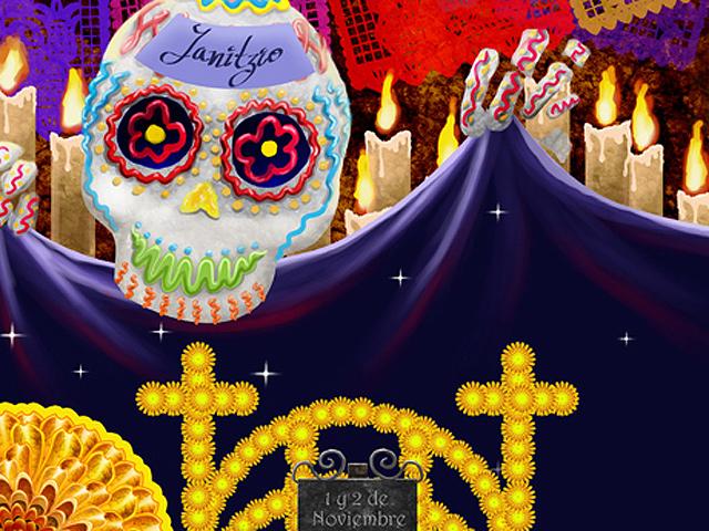 La alegre celebración del Día de Muertos en el Estado de Michoacán