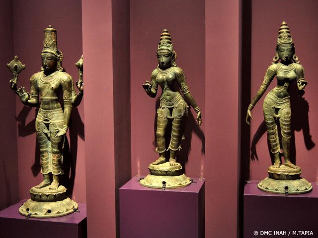 Dioses y Demonios de la India en el Museo Nacional de las Culturas